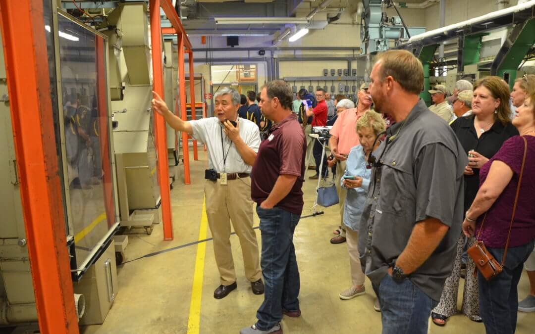 Board of Directors tour Delta Research and Extension Center