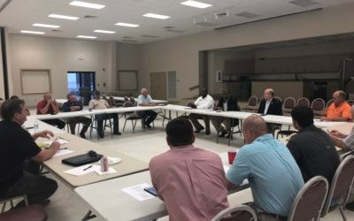 Farm Bureau hosts producer round table with Bayer Crop Science officials