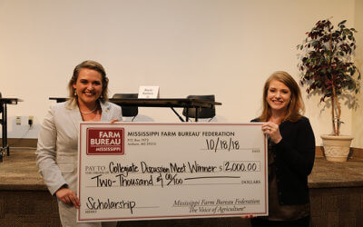 Pearl River County student wins Collegiate Discussion Meet
