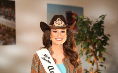 Taylor McNair embodies Farm Bureau values in role as Miss Rodeo America