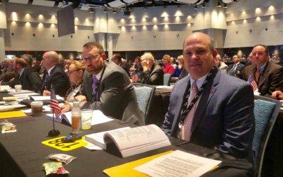 Mississippi delegates make big impact on AFBF Convention business session