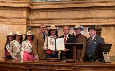 Legislature recognizes MFBF member Taylor McNair