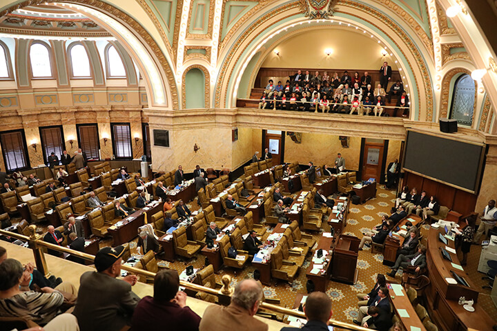 Senate committees pass versions of harvest permit, property tax bills
