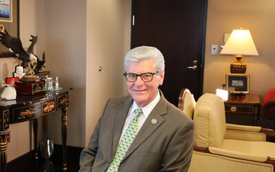 MFBF 2018 Friend of Ag Award Recipient: Governor Phil Bryant