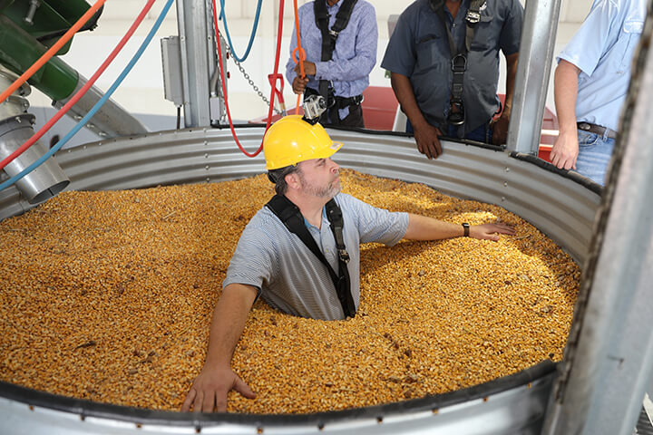 Lessons learned during MFBF grain bin safety program saves a life