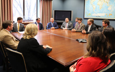 YF&R committee members visit Washington D.C. to advocate for Mississippi agriculture