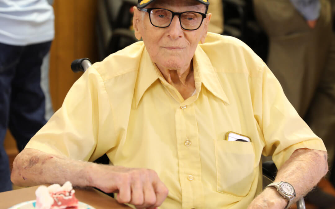 Marion County board member celebrates 100th birthday