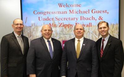AFBF President, USDA Under Secretary visit Mississippi