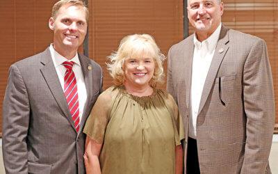 Forming lasting relationships: Lincoln County Farm Bureau hosts legislative dinner