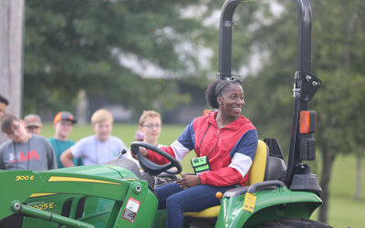 Becoming more careful: Young Farm Bureau members learn about safety at camp