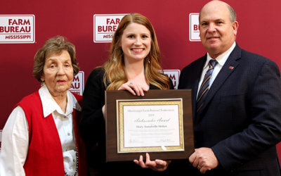 MFBF 2019 Women's Ambassador Award Recipient: Annabelle Stokes