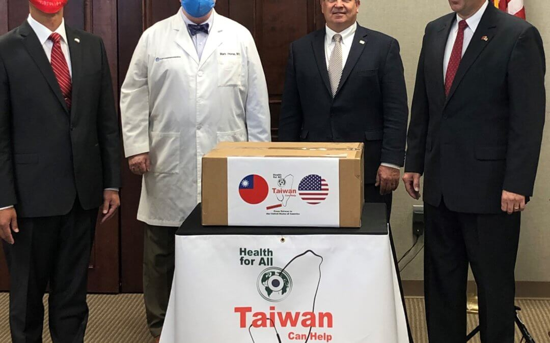 June 1st Covid-19 update: Taiwan donates 100,000 PPEs