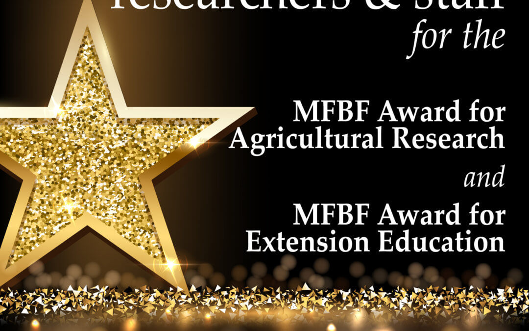 Mississippi Farm Bureau Federation accepting nominations for second year of Ag Research and Extension Awards
