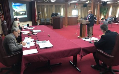McCormick testifies to Mississippi River Commission