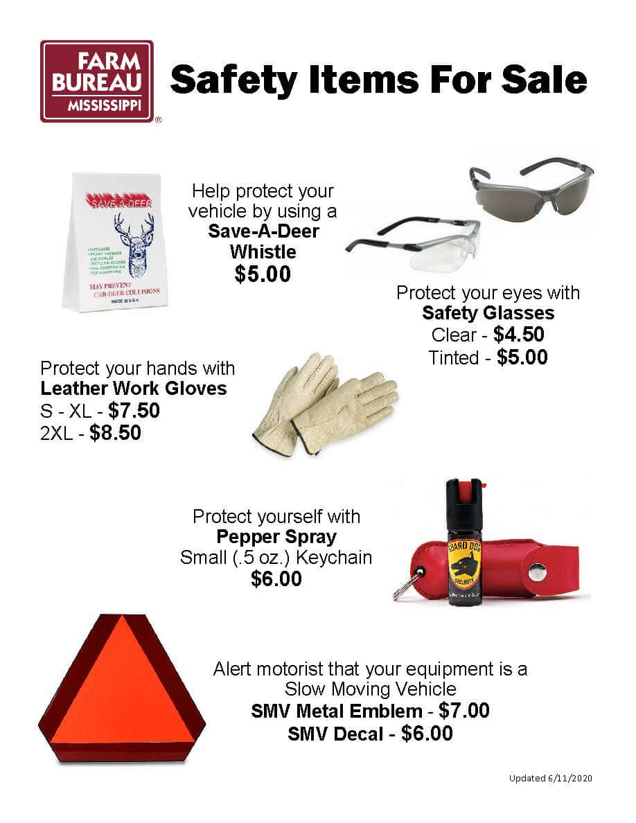 Safety Items for Sale