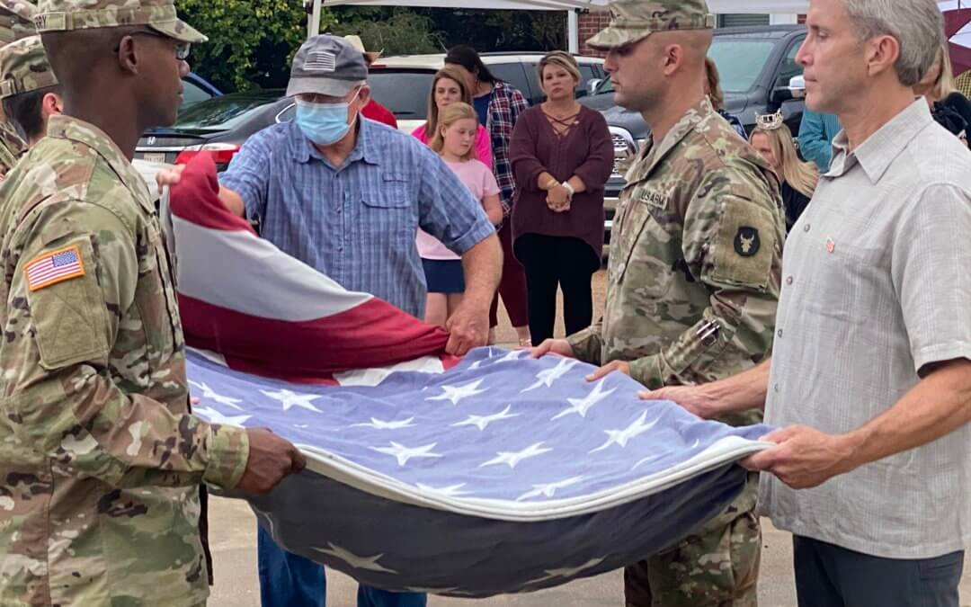 Grenada County Farm Bureau hosts Flag Retirement Ceremony