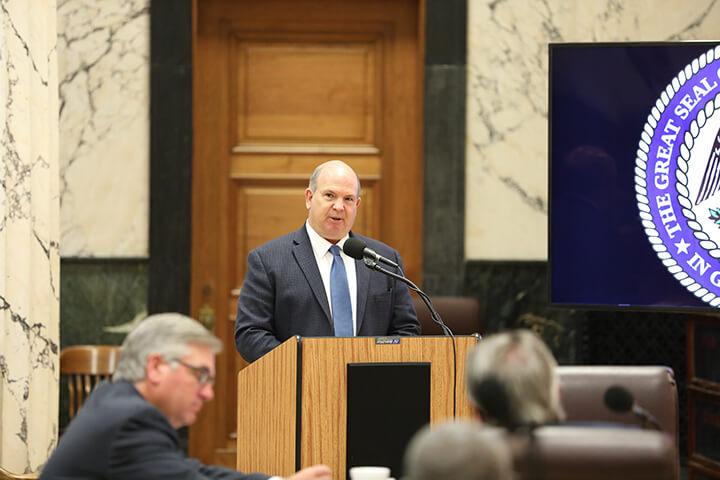 McCormick testifies before Senate Highways & Transportation Committee