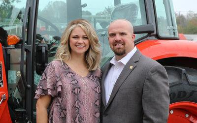 Mississippi Farm Bureau Federation 2020 YF&R Achievement Award: Brian and Ashley Rhodes