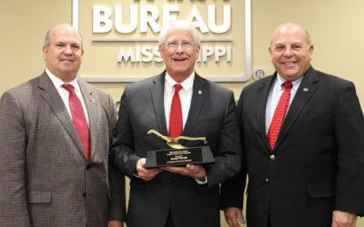 Wicker Honored with Farm Bureau Golden Plow Award