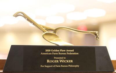 Recognizing a Steadfast Commitment: U.S. Senator Roger Wicker Honored with Farm Bureau Golden Plow Award