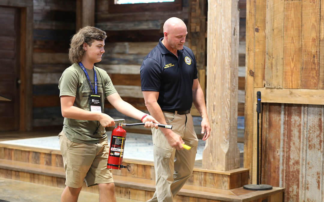 MFBF Youth Safety Camp Teaches Students to be Vigilant