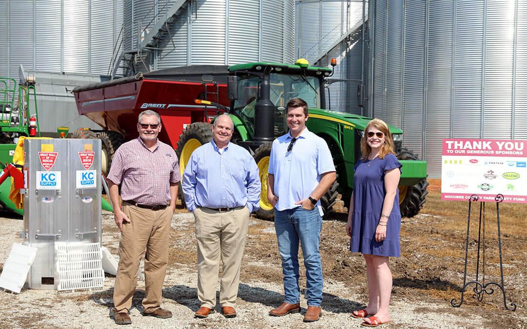 Noxubee County Farm Bureau Hosts Farm Safety Fund Media Day